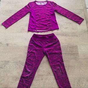 Workout Girls shirt sz 6-6X
